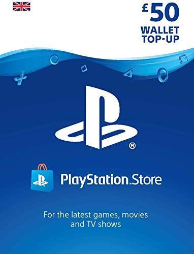 PlayStation PSN Card 50 GBP Wallet Top Up