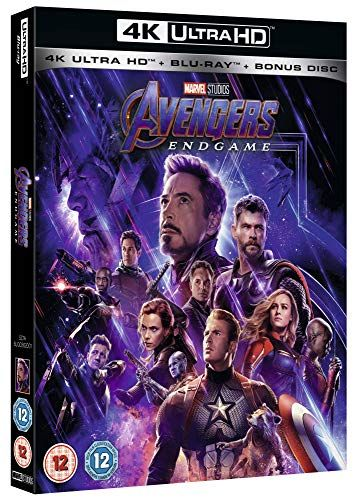 Avengers: Endgame 4K includes bonus disc [Blu-ray] [2019] [Region Free]