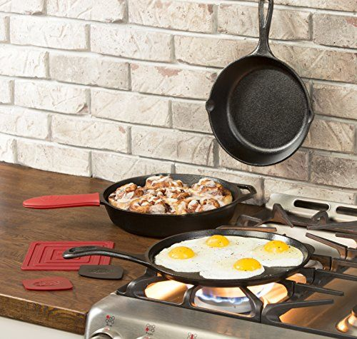 Replace Your Old Nonstick Pans With This Lodge Cast-Iron Set for $50 1