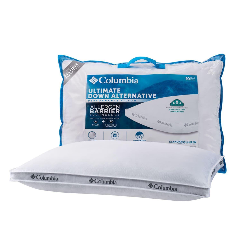 down alternative allergen barrier pillow