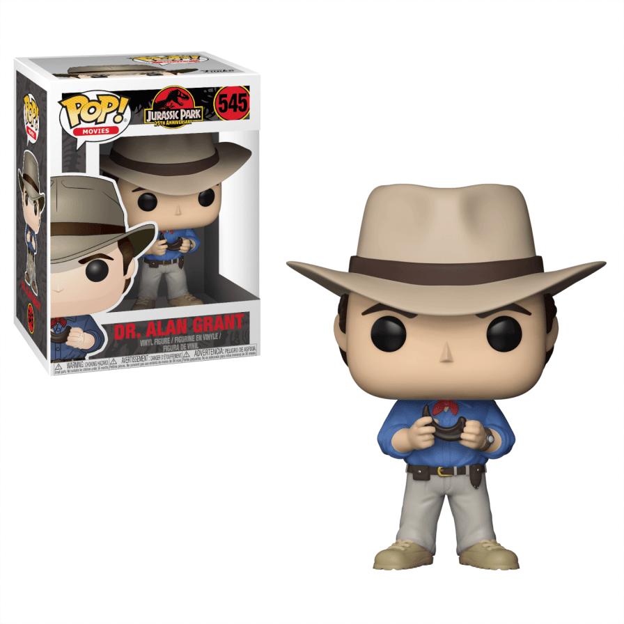Jurassic Park: Dr. Alan Grant Pop!  Vinyl figure