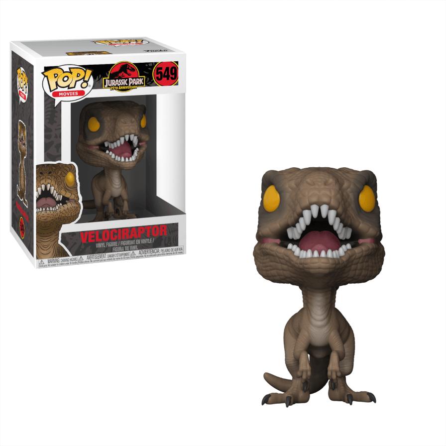 Jurassic Park: Velociraptor Pop!  Vinyl figure