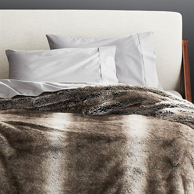 10 best faux fur throw blankets for