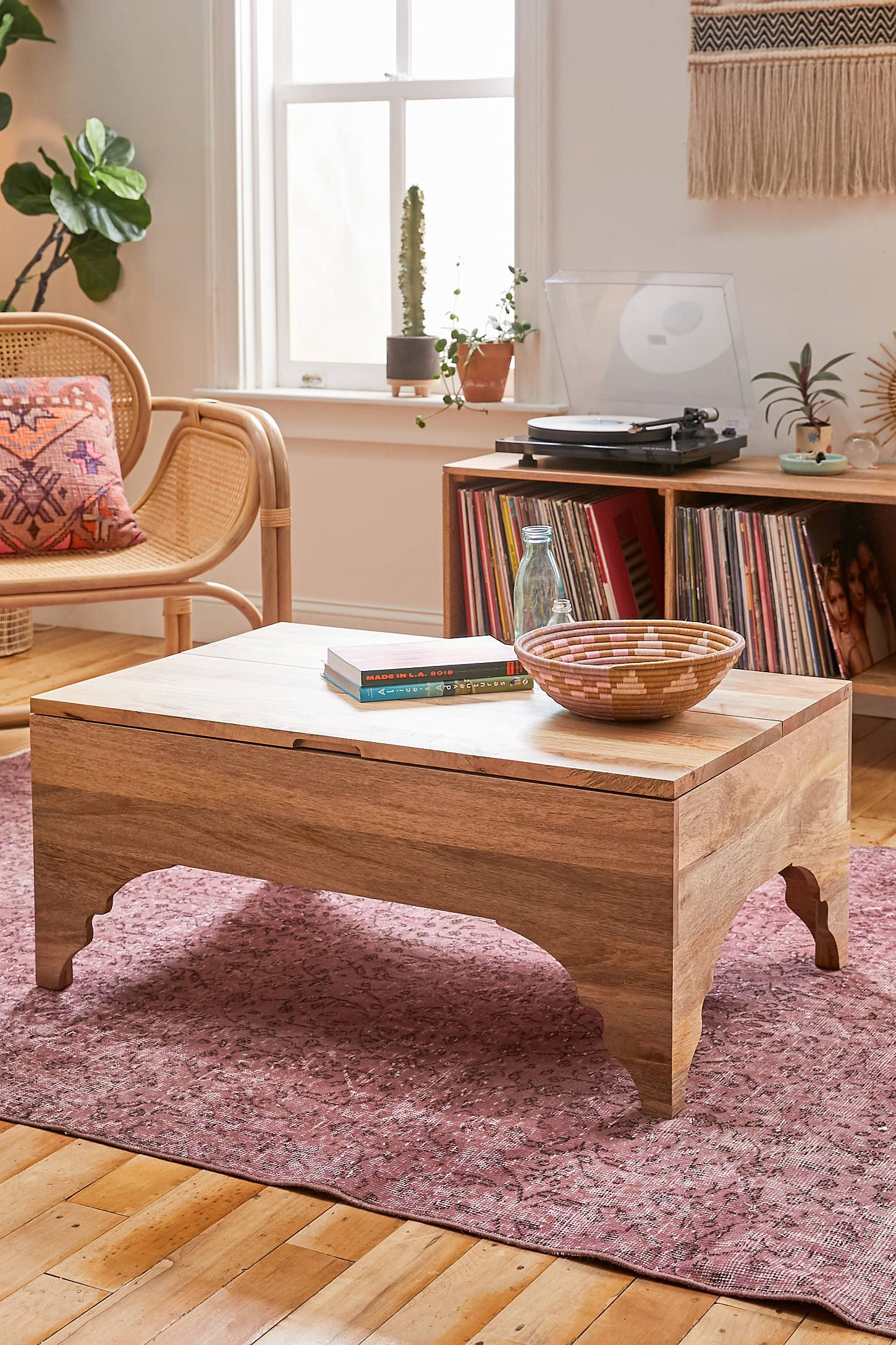 jamila storage coffee table