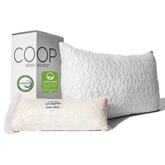 adjustable loft pillow