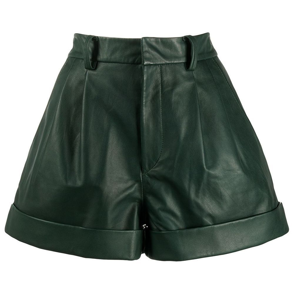 City Leather Shorts