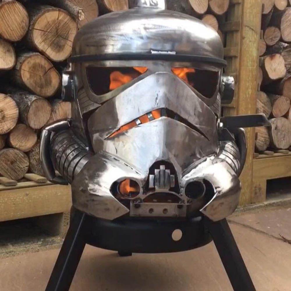 Storm Trooper Fire Pit