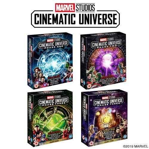 Marvel Phase 1-3 Blu-ray Kit