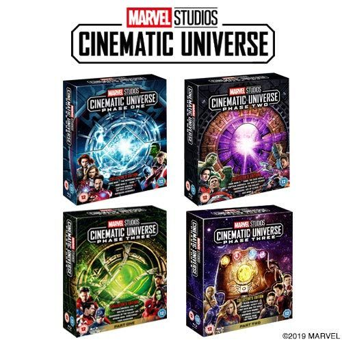 Marvel Stage 1-3 Full Set Blu-ray
