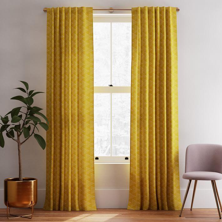 dark horseradish curtains