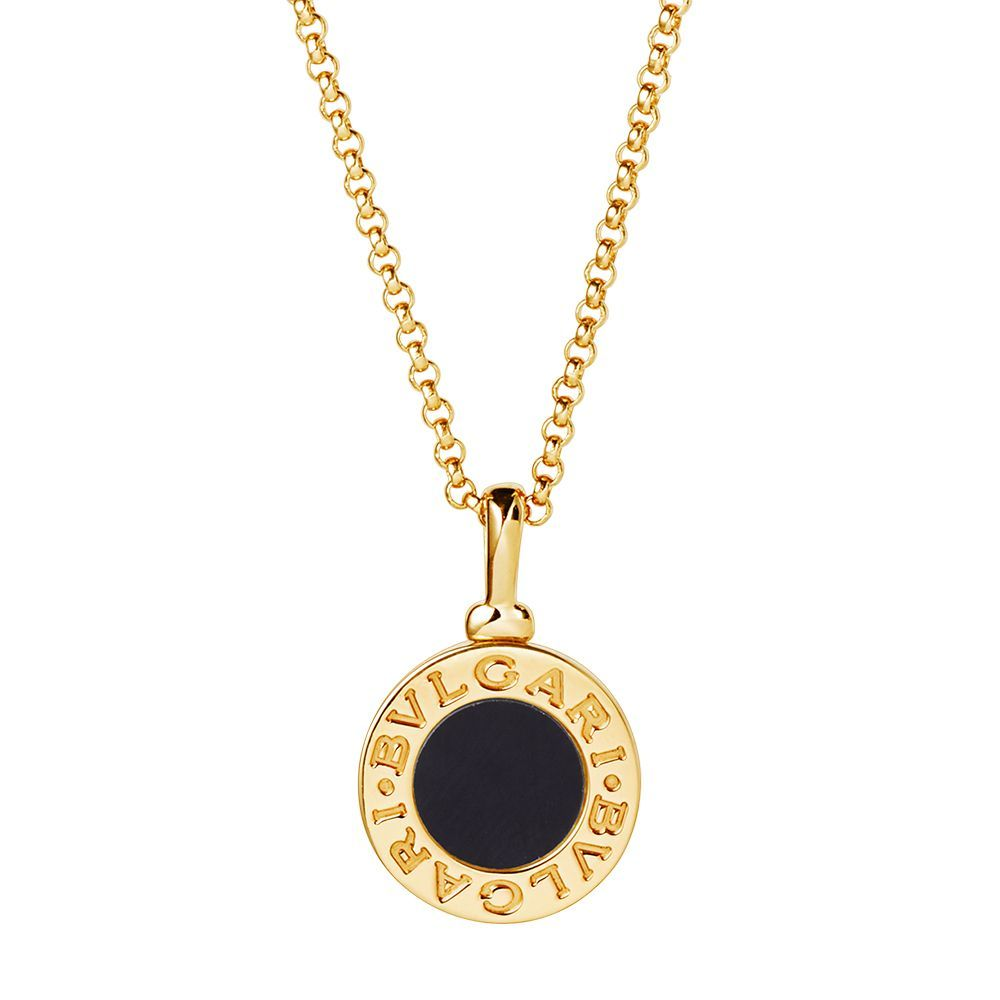 Onyx and Gold Chain