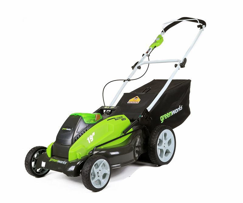 Battery Powered Lawn Mowers
