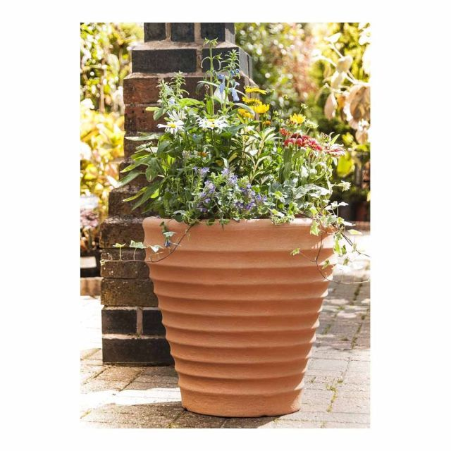 Moroccan Style Outdoor Planter, 43cm
