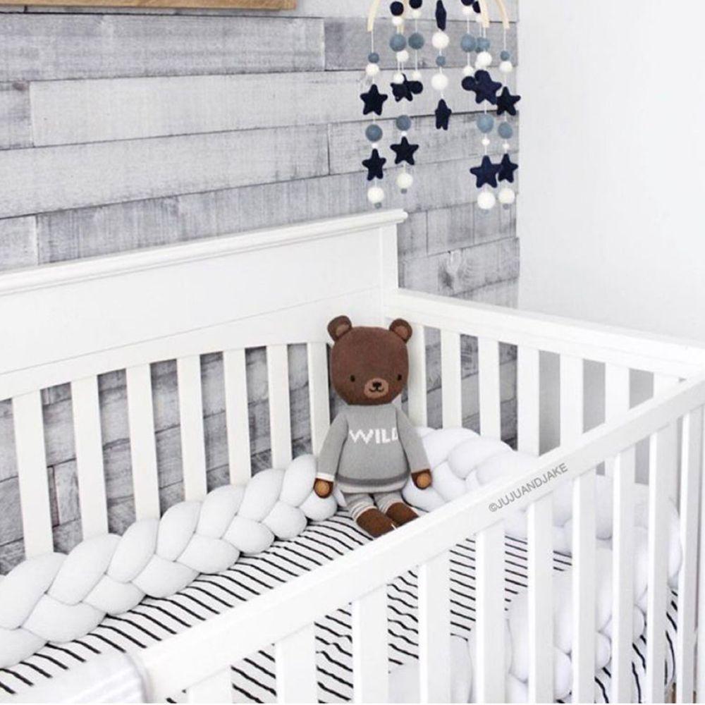 juju and jake braided crib bumper