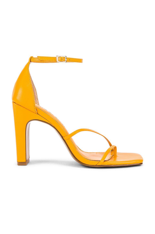 Sunny Heel in Tangerine
