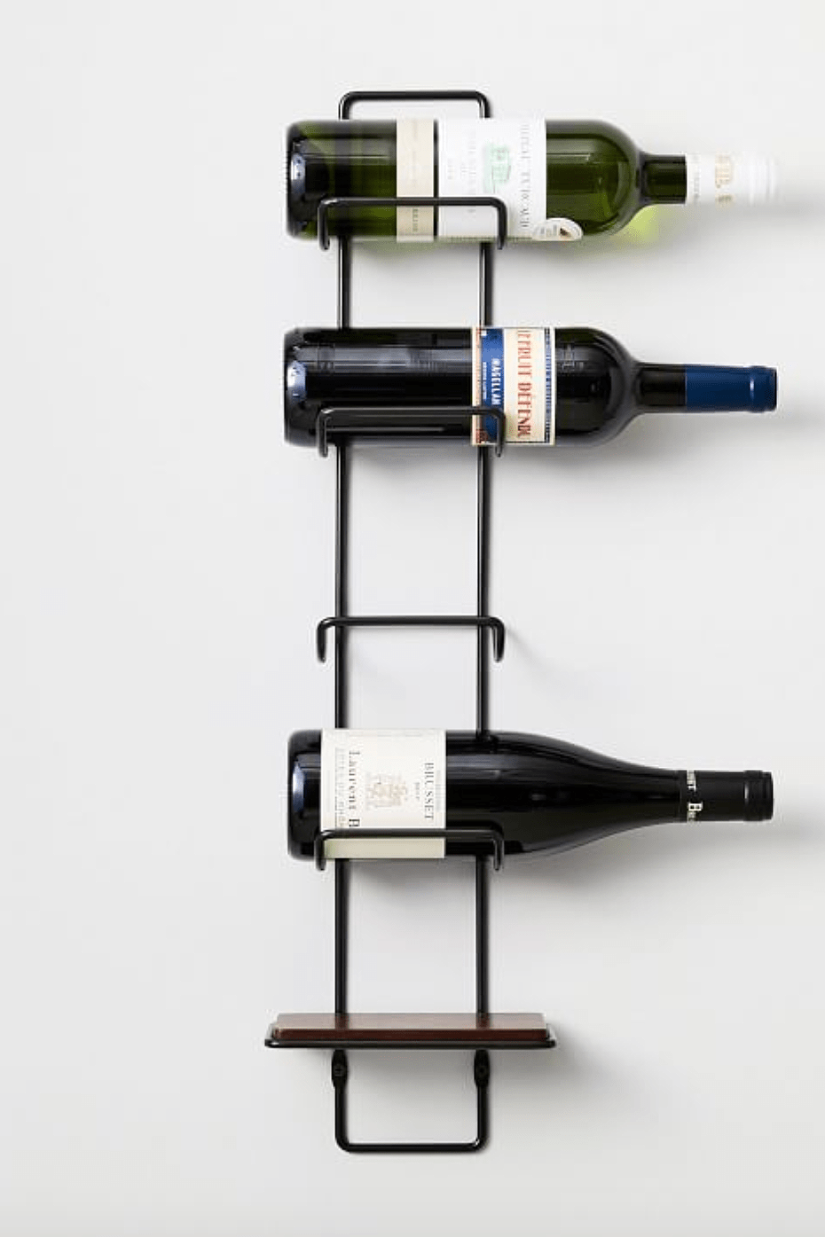 outline wine rack