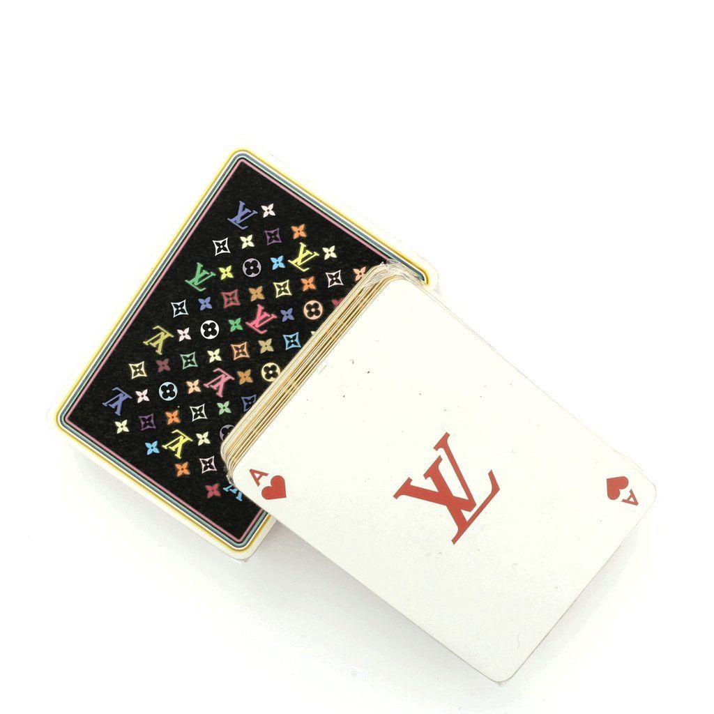 Set of Playing Monogram Cards