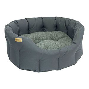 Earthbound Classic Waterproof Dog Bed Grey