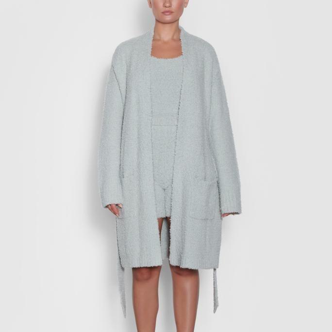 Cozy Knit Short Robe