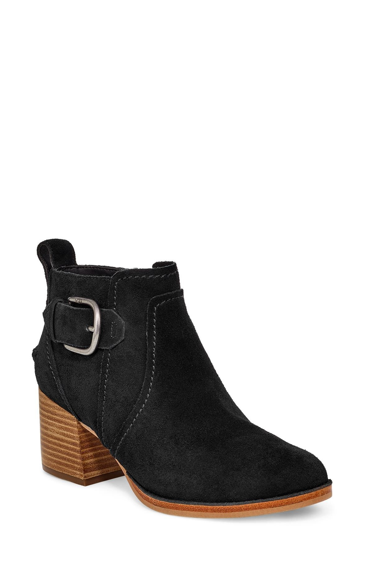 Leahy Suede Ankle Boots