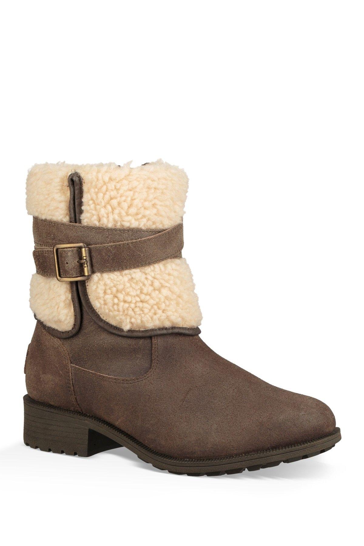 blayre iii wool cuff bootie
