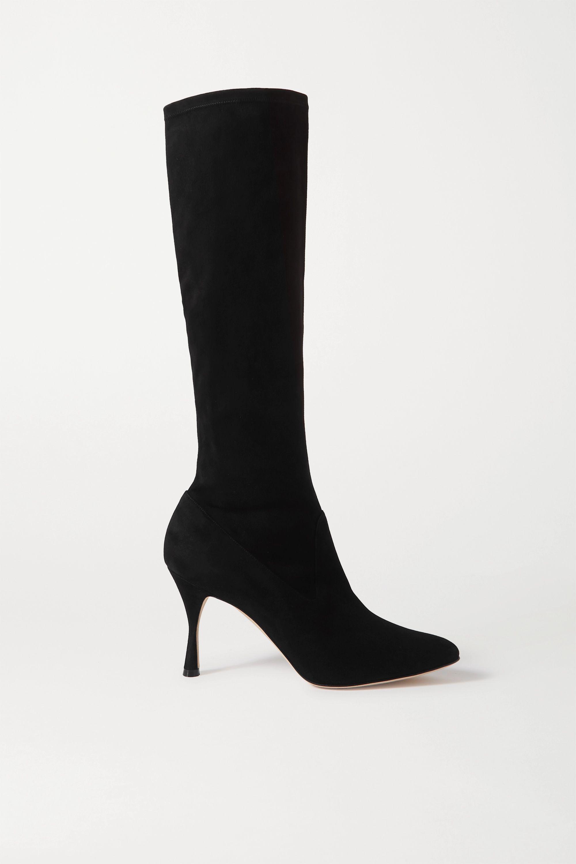 Pamfilo Stretch-Suede Knee Boots