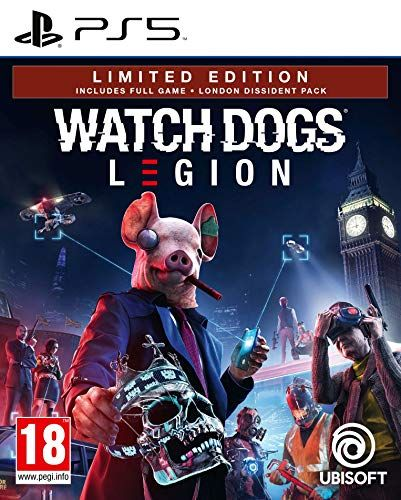 Watch Dogs Legion Limited Edition (Exclusive to Amazon.co.uk) (PS5)