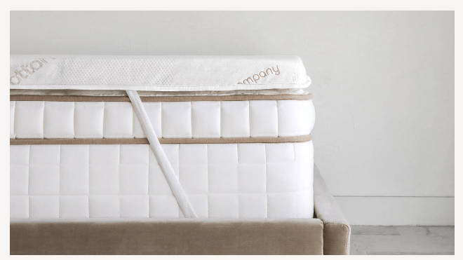 graphite mattress topper