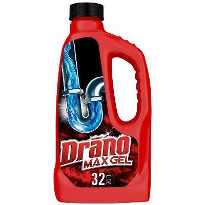 drano max gel clog remover