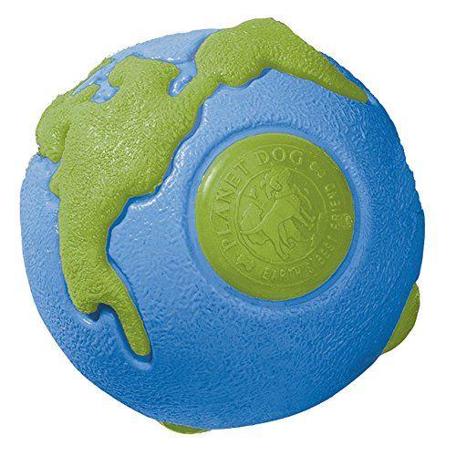 Planet Dog Orbee-Tuff Planet Ball Blue