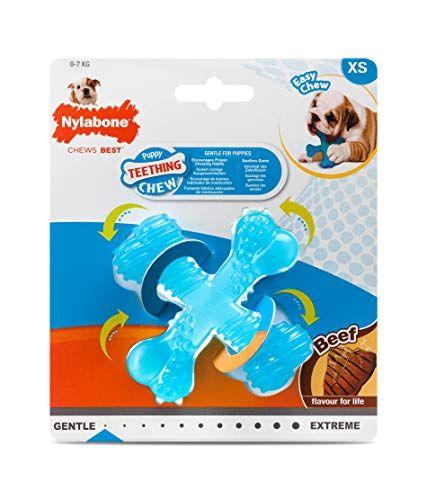 Nylabone Gentle Puppy Dog Teething Bone