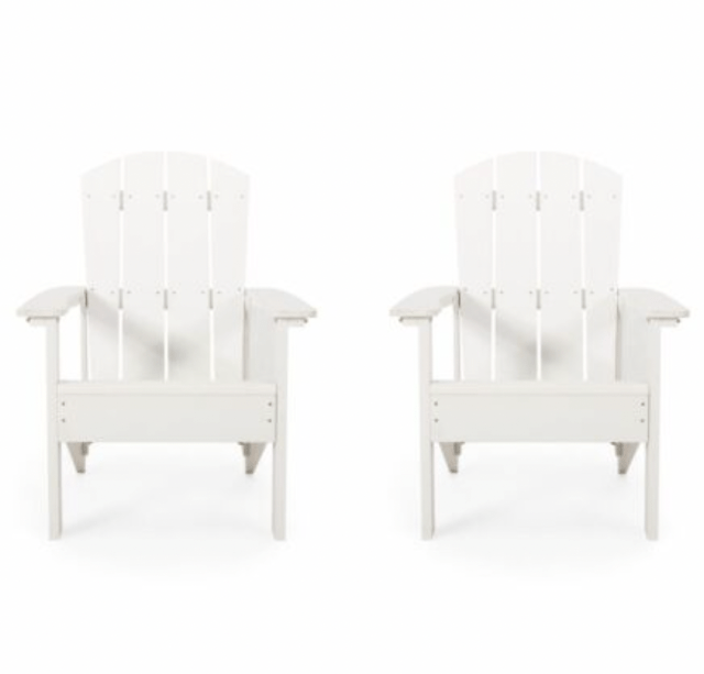 Anastasija Outdoor Adirondack Chairs (Set of 2)