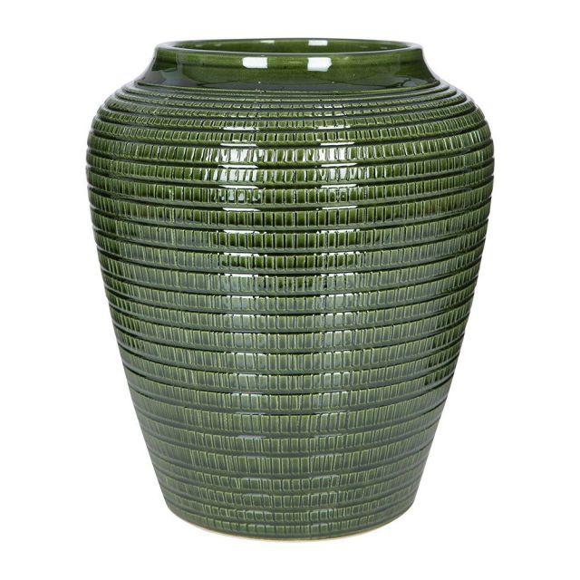 Bergs Potter Green Willow Vase, Amara, £59