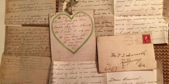 A Woman Found a Stash of 100 Year Old Love Letters in the Ceiling of     A Woman Found a Stash of 100 Year Old Love Letters in the Ceiling of Her  House   and She Managed to Track Down the Couple Who Wrote Them