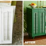 How To Turn Shutters Into A Pretty Cabinet Upcycle Shutters