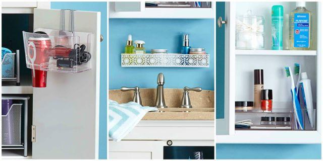 Diy Bathroom Organization Ideas Pinterest