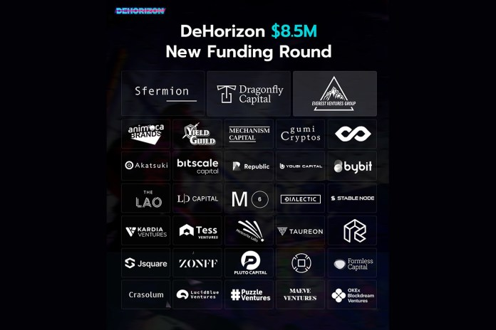 """metaverse-game-""""dehorizon""""-closes-$8.5m-pre-a-round-led-by-sfermion,-dragonfly-capital-and-everest-ventures-group"""