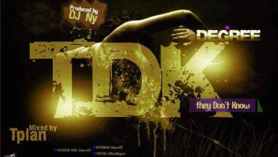 Photo of Degree – TDK (They Don't Know) MP3 Prod By Dj NY