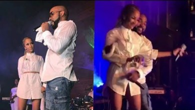 Photo of VIDEO: Adesua & Banky W Perform Their Love Song Live On Stage
