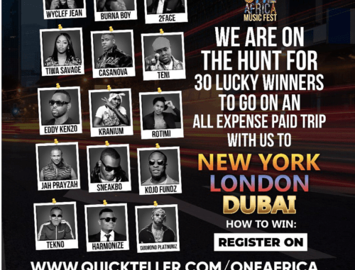 Win All expense Paid Trip to New York, London & Dubai, With Interswitch One Africa Music Fest 2019