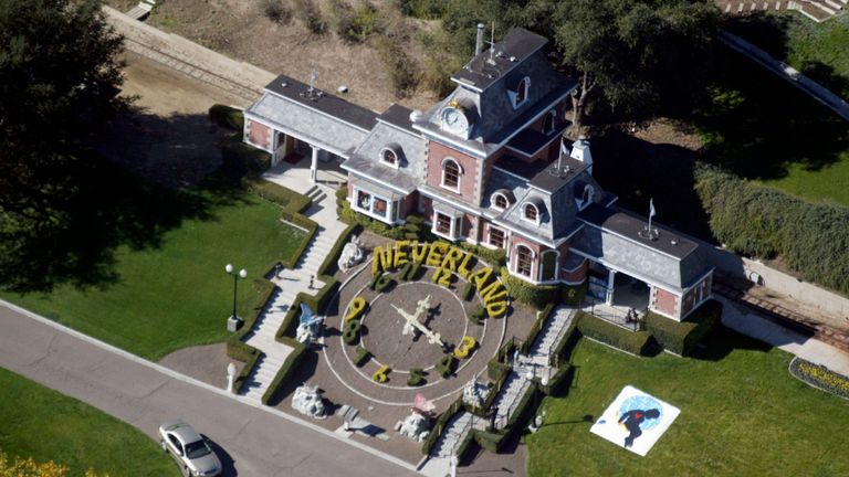 It is alleged Jackson carried out sexual abuse at his Neverland ranch in California