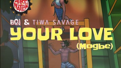 Photo of BOJ ft. Tiwa Savage – Your Love (Mogbe)