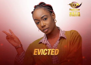 BBNaija: Tolanibaj Has Been Evicted From The Big Brother House.