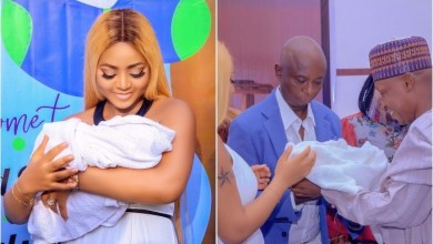 "Photo of ""All I Do Is Take Care Of My Son And Mind My Business"" – Regina Daniels"