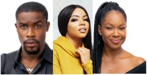 #BBNaija: Neo, Vee & Nengi Secure A Spot In The Grand Finale Of The Reality Show