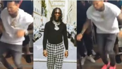 Photo of HUGE!! Chris Brown Thrills Fans As He Dances Energetically To Burna Boy's Song