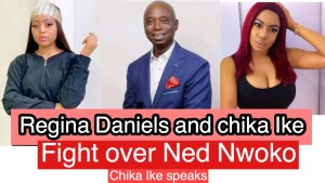 EXPOSED!! Regina's Husband -Ned Nwoko Allegedly Caught In A Sexual Relationship With Actress Chika Ike