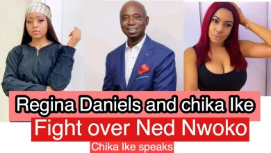 Photo of EXPOSED!! Regina's Husband -Ned Nwoko Allegedly Caught In A Sexual Relationship With Actress Chika Ike
