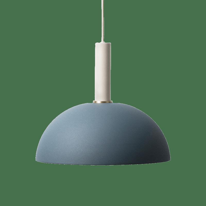 Erin Pendant Lamp - Light Grey, Dark Blue - 0