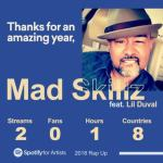 "Mad Skillz – ""Rap Up"" Feat Lil Duval"